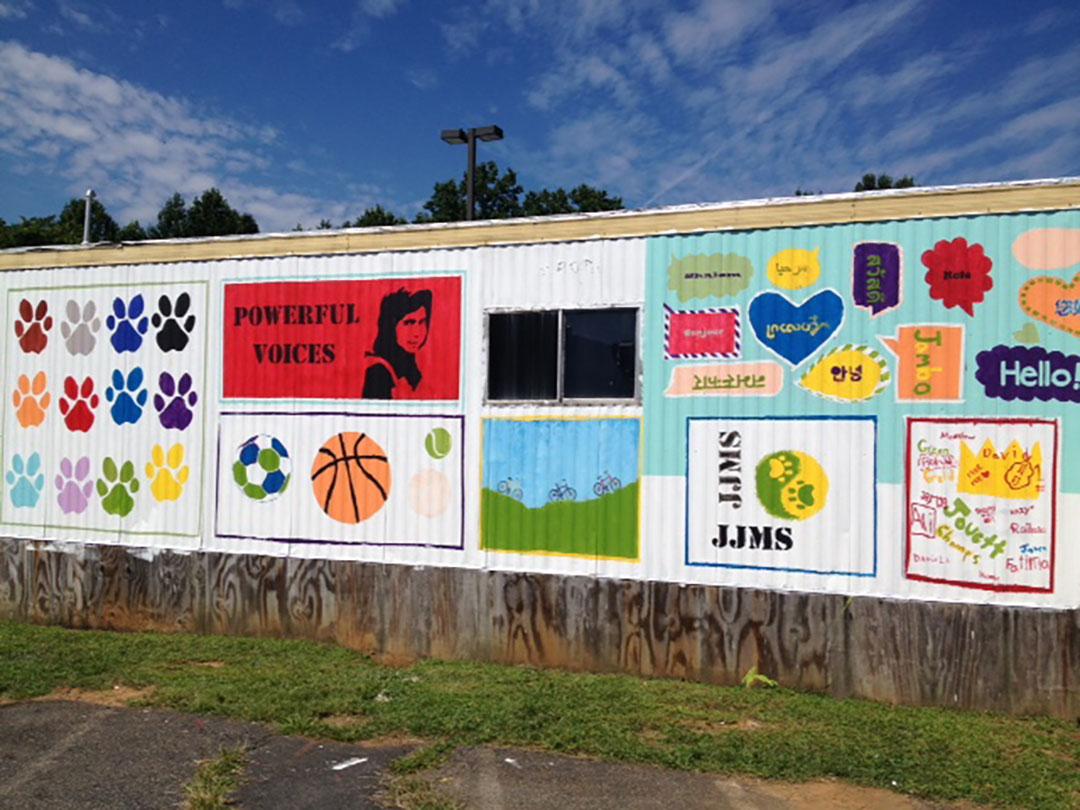 Jack Jouett Middle School Mural