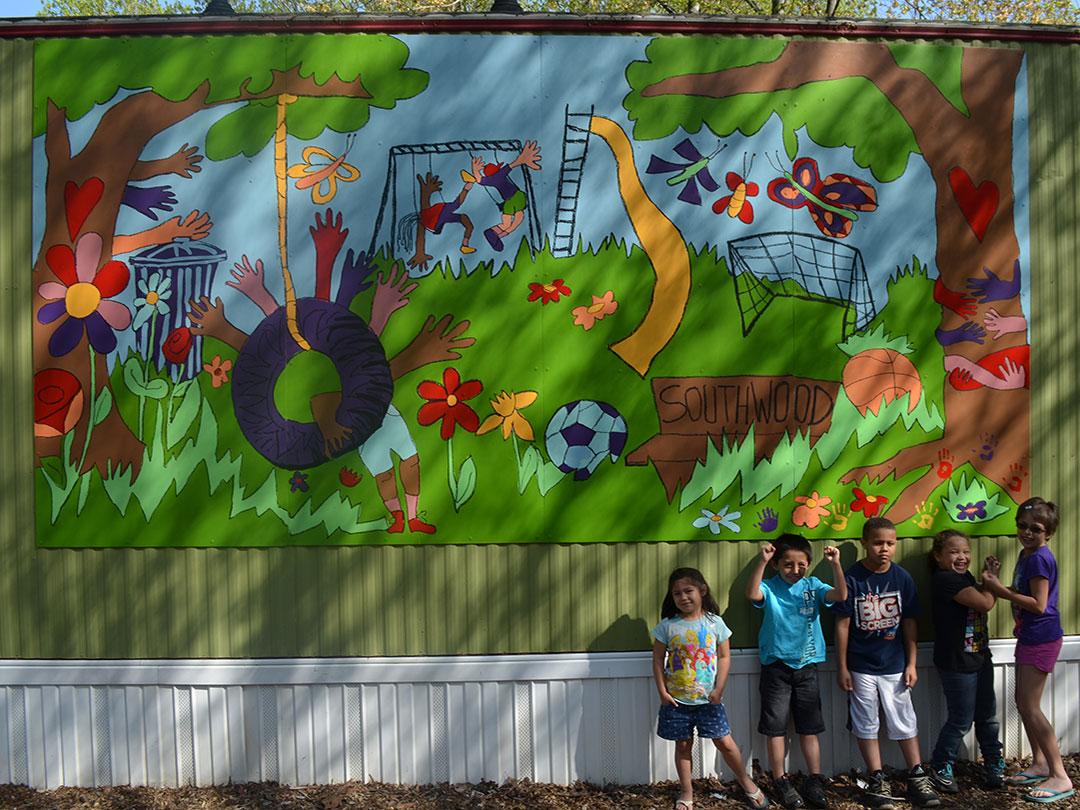 Southwood Mural